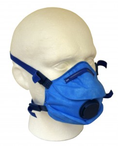 metal detectable face mask