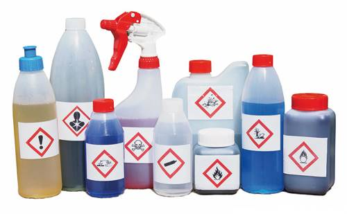 Many consumer products with hazardous chemicals are not child-resistant